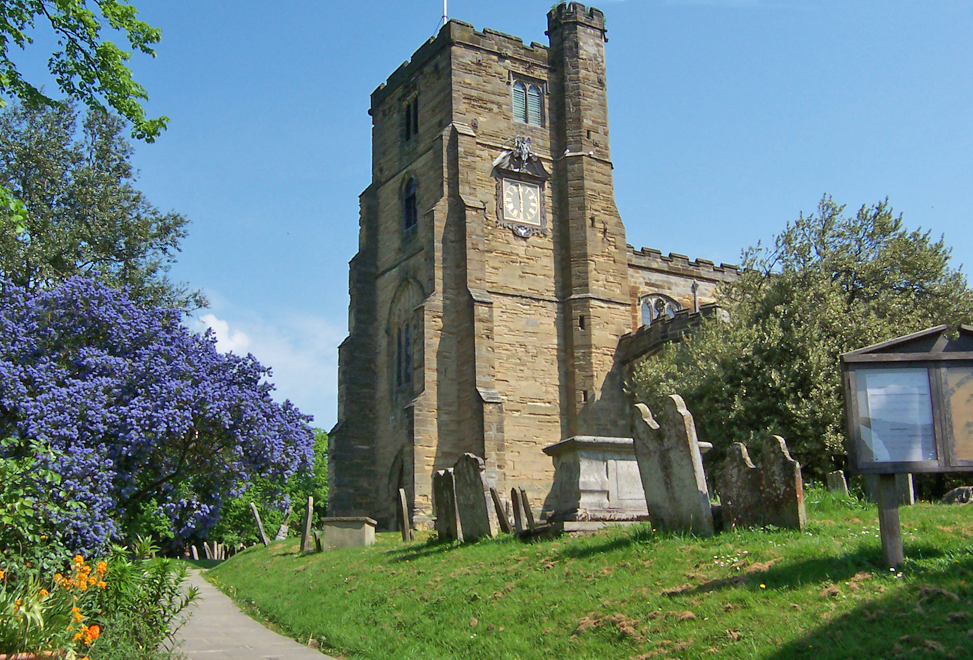 Exploring your ancestors' church and churchyard