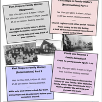 Family History Training Sessions